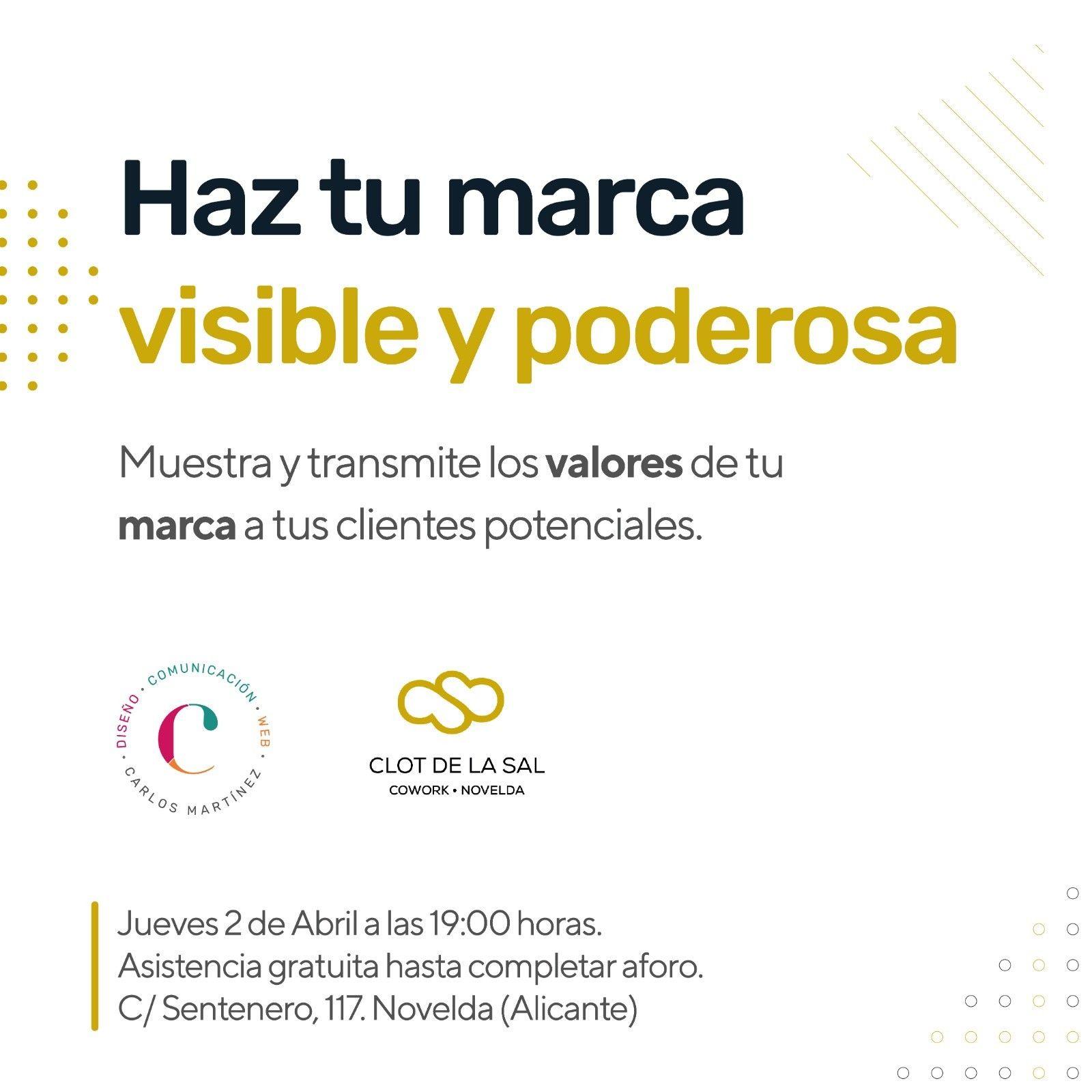 Clot de la Sal Cuadrado-1 Haz tu marca visible y poderosa con Carlos Martínez